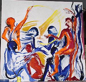 Barbara Heinisch, Tanz VIII, 1980
